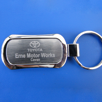 Nickel-Plated-Keyring