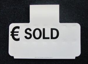 Sun Visor Pricing Board