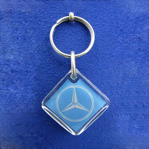 Diamond Shaped Keyrings