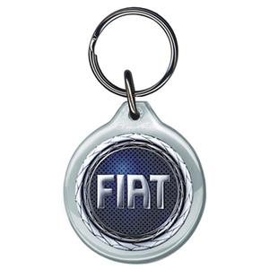 Fiat Acrylic Keyring