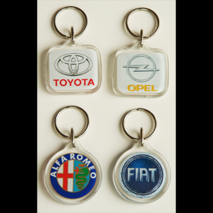 High Quality Acrylic Keyrings