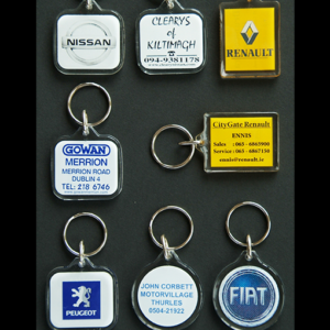 High Quality Acrylic Keyrings
