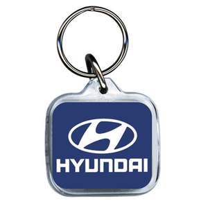 Hyundai Acrylic Keyring