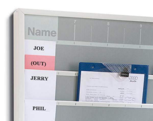 A4 Workshop Management Job Card Holders
