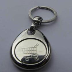Magnetic Trolley Token Key Rings
