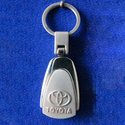 Medallion-Keyring-with-Embossed-Logo