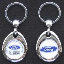 Metal Roundal with Personalised Badge