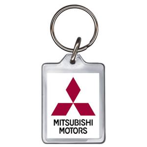 Mitsubishi Acrylic Keyring