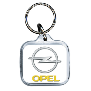 Opel Acrylic Keyring
