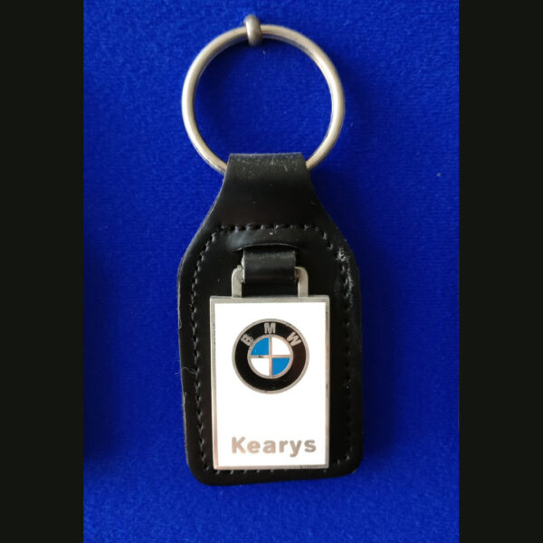 Enamel Key Ring Keyring
