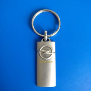 Medallion With Embossed Logo Keyring