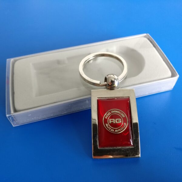 Epoxy Coated Key Ring keyring