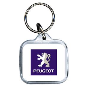 Peugeot Acrylic Keyring