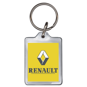 Renault Acrylic Keyring