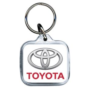 Toyota Acrylic Keyring