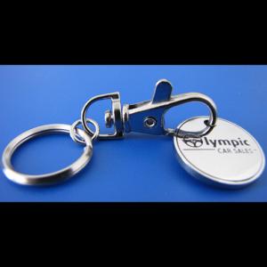 Trolley Token Key Rings