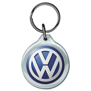 VW Acrylic Keyring