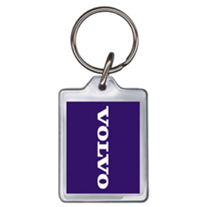 Volvo Acrylic Keyring