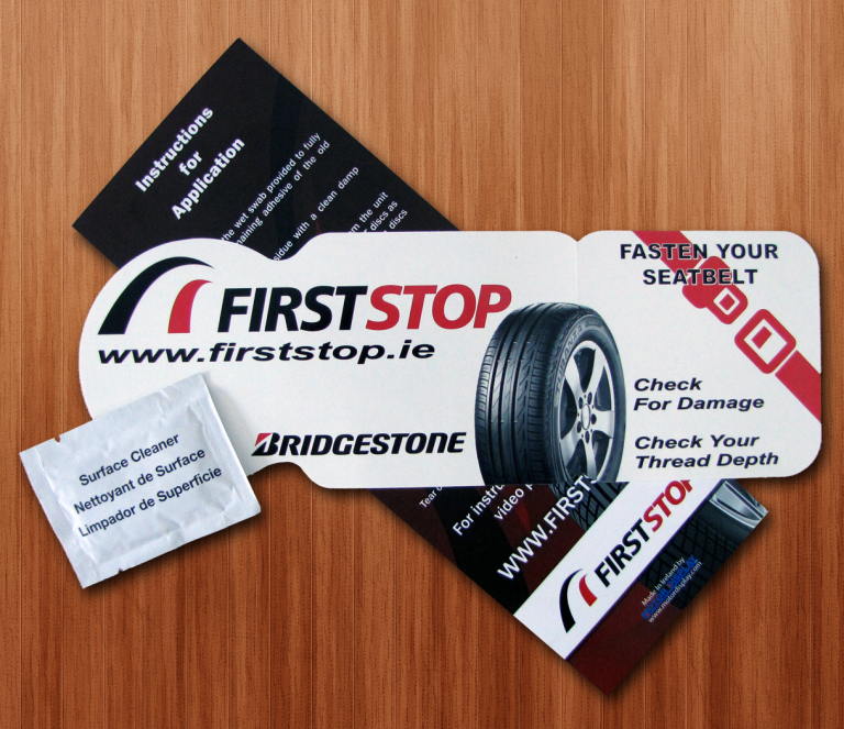 New Design EASY FILM Tax Disc Holder - Full Colour | Motor