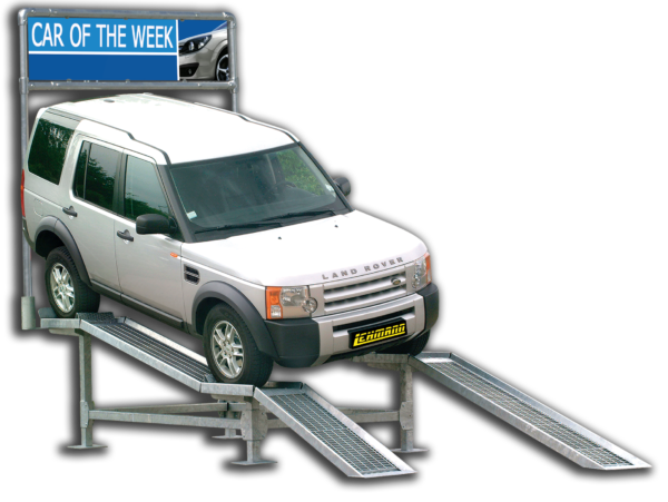 Vehicle Display Ramp