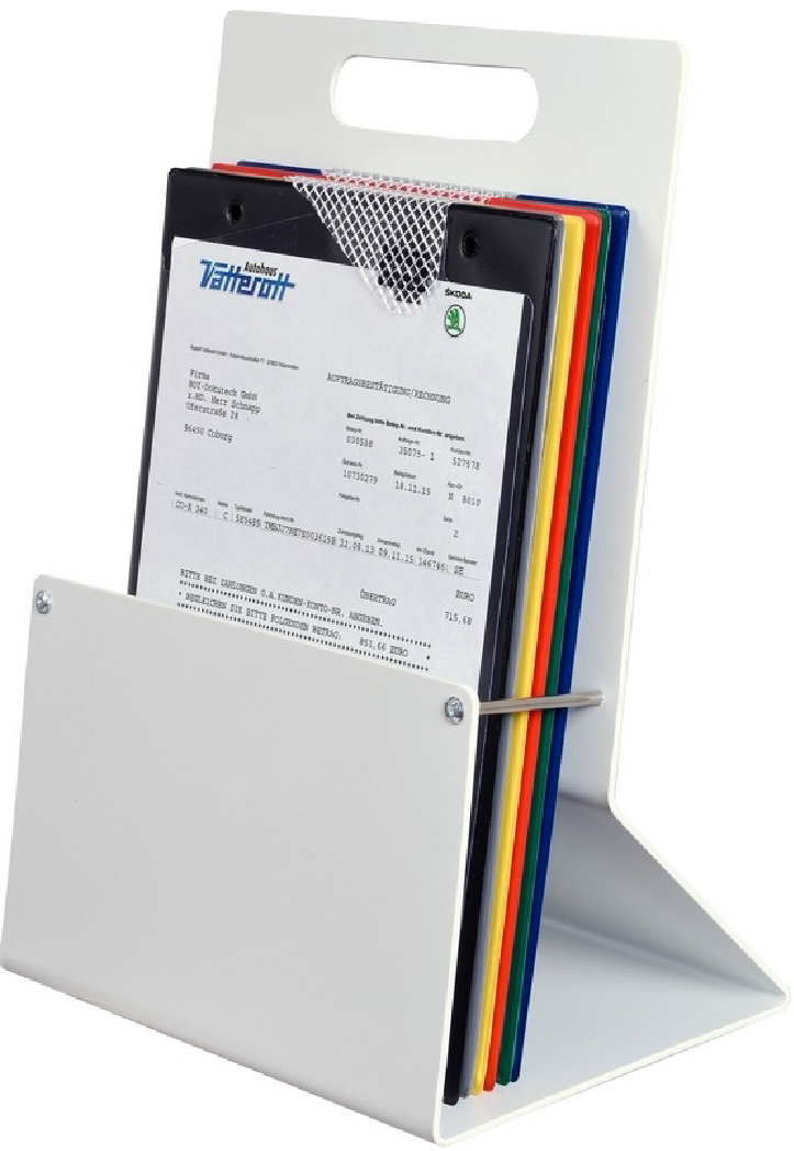 Job Card Holder Freestanding Wall Mounted Motor Display
