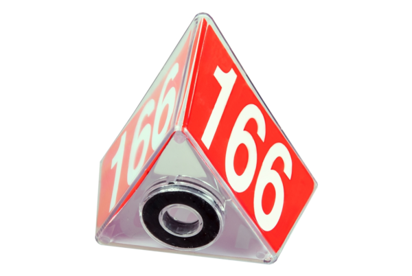 Numbered Car Roof Sign