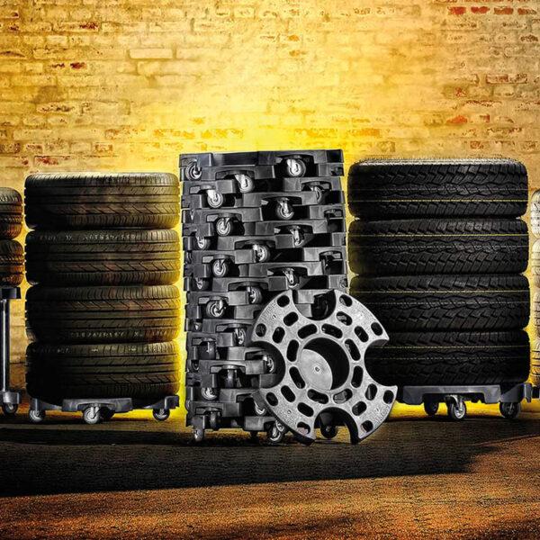 Tyre & Wheel Trolley