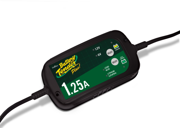 Battery Tender 1.25A Switchable - Maintain your Battery Level