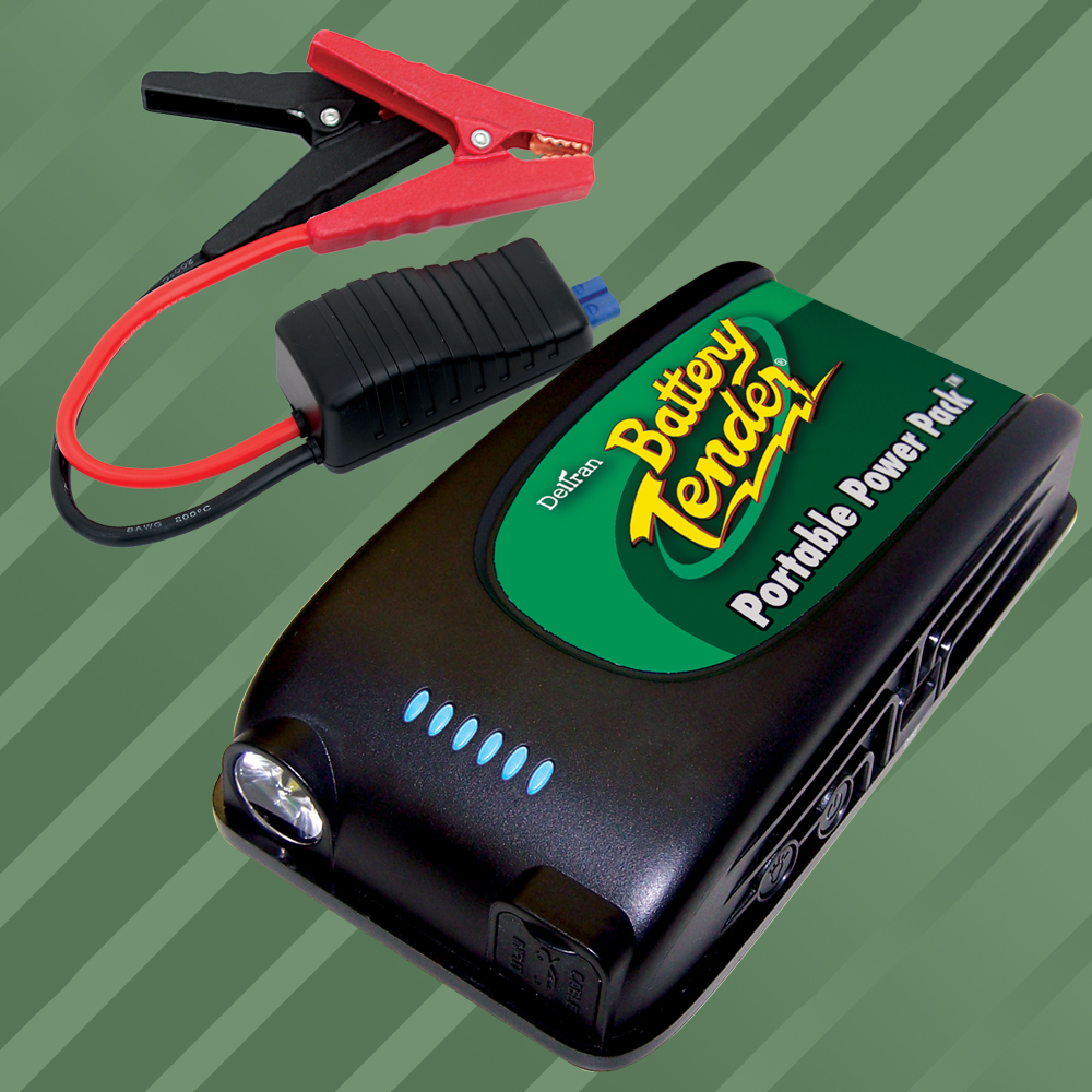 Portable Power Pack - 12V Jump Starter with USB Charger
